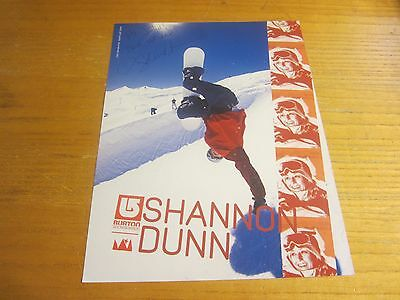 Shannon Dunn Autographed/Signed 8.5X11 Photograph USA Olympic Snowboarding