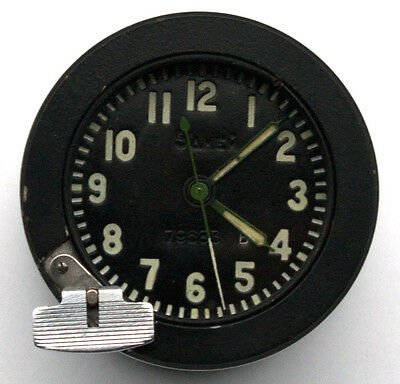 5-day / 14-jewels Soviet 70's-made Tank Clock 117CS / 117ChS, with HEATER