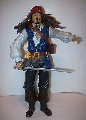 PIRATES OF THE CARIBBEAN JACK SPARROW with moveable arms. 2011 Jakks Pacific