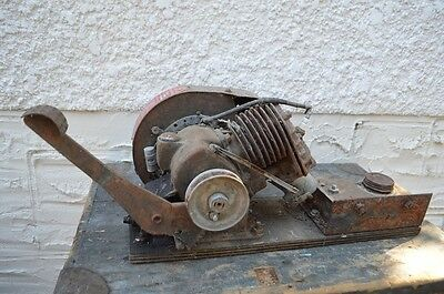 Vintage 4 Cycle Iron Horse Motor Johnson Motors Canada Hit Miss Stationary Brigg