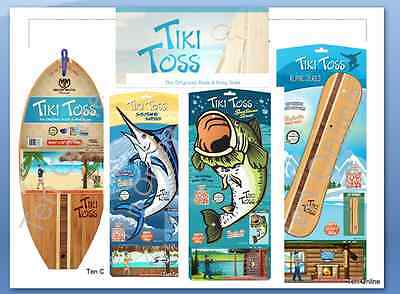 Original Tiki Toss Hook and Ring Game, Authorized Retailer 1-3 day delivery