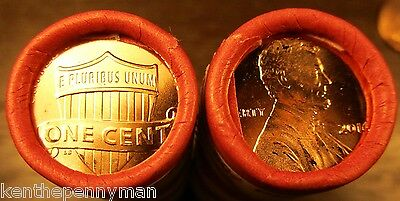 2016 P Lincoln Cent Roll In Original Bank Wrap ! ! ! Penny Roll   Free Shipping