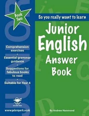Junior English Book 2 Answer Book by Hammond, Andrew Paperback Book The Cheap