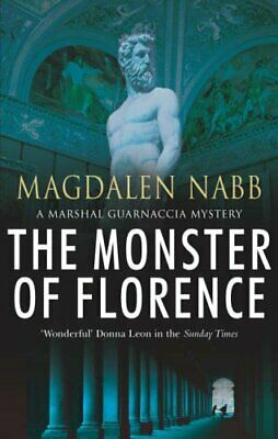 The Monster Of Florence by Nabb, Magdalen Paperback Book The Cheap Fast Free
