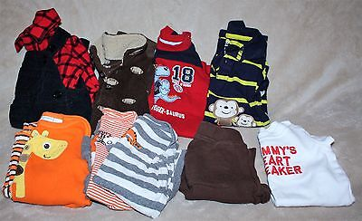 13 Piece Baby Boy Clothing Lot Size 0-3 Months