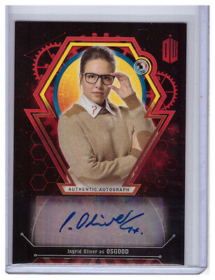 2016 Topps Doctor Who Extraterrestrial Auto INGRID OLIVER Osgood AUTOGRAPH 3/5