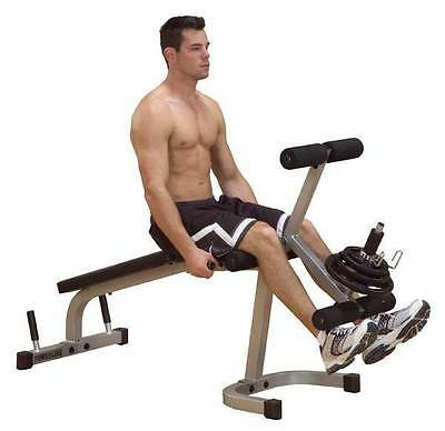 Leg Extension and Curl Machine w Padded Seat [ID 23858]