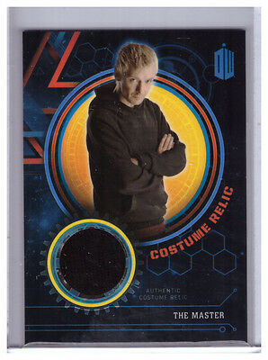 2016 Topps Doctor Who Extraterrestrial THE MASTER Black Hoodie COSTUME RELIC /99
