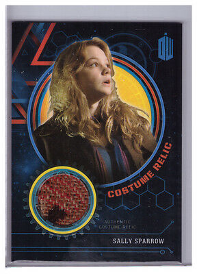 2016 Topps Doctor Who Extraterrestrial SALLY SPARROW Coat COSTUME RELIC /99
