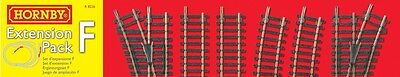 Hornby Model Railway Train Set Railroad Track Extension Pack F Rail OO Gauge NEW