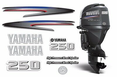 Yamaha 250 HPDI Sticker Decals Outboard Engine Graphic 250hp Sticker USA MADE