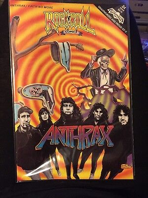ANTHRAX Faith No More Comic 1991 Rock N Roll Comics First Printing NEW MINT