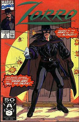 Zorro #3 (Feb 1991, Marvel)