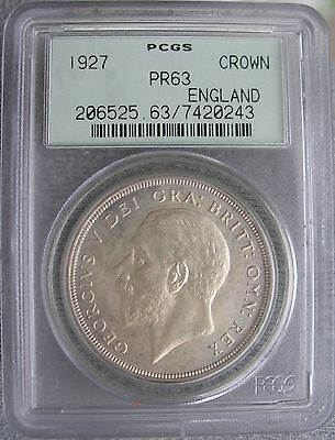 1927 Great Britain Crown PCGS PF-63