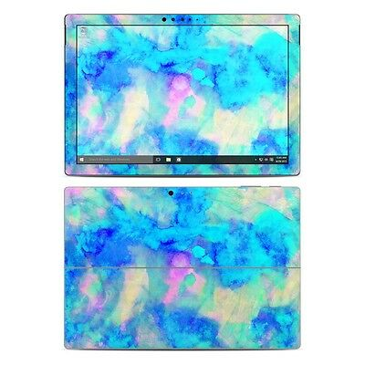 NEW Vinyl Skin for Surface Pro 3, 4, Book Ice Blue Sticker Decal Cover