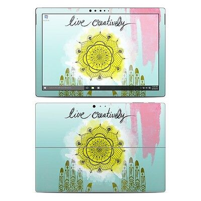 NEW Vinyl Skin for Surface Pro 3, 4, Book Live Creatively Sticker Decal Cover