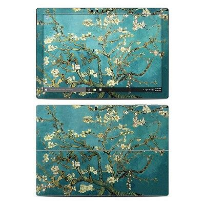 NEW Vinyl Skin for Surface Pro 3 4 Book Van Gogh Blossoming Almonds Decal Cover