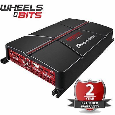 Pioneer GM-A6704 1000 Watts 4 chaines Pontable Amplificateur Enceintes Auto