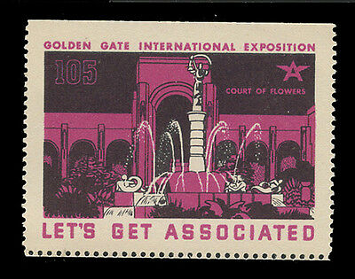 Associated Oil Company Poster Stamps Of 1938-9 - #105, Court Of Flowers