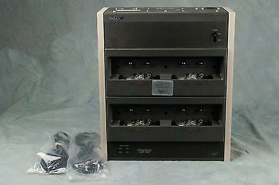 Sony CCP-1400 Slave Cassette Tape Duplicator 16 x Speed 4 Bays Mono, Cable,Cord