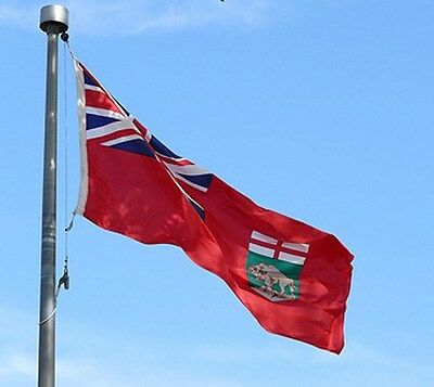 NEW 3x5 ft MANITOBA CANADA CANADIAN FLAG