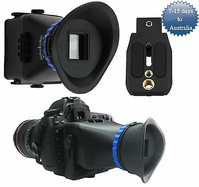"""Universal 3.0x 3"""" 3.2"""" LCD Screen Viewfinder For Canon Nikon Sony DSLR Camera"""