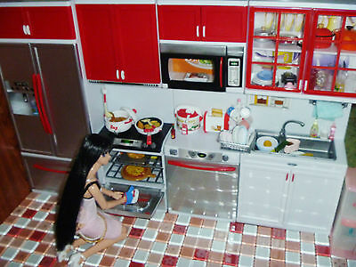 1/6 scale Kitchen Cabinet Furniture for DAL Odeco Nikki Usagii Obitsu Pullip