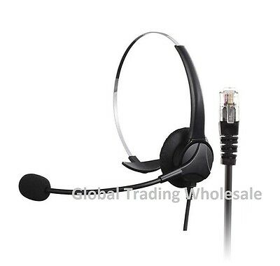 Wholesale Bulk Buy Job Lot 5 x Telephone Headset Call Centre Office Business New