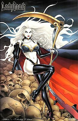 Coffin Comics Lady Death Killers #1 Coloring Set Ltd to 160 Signed Brian Pulido