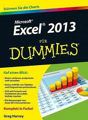 Excel 2013 für Dummies Greg Harvey