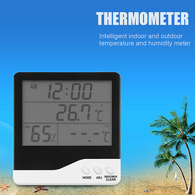 LCD Digital Hygrometer Electronic Temperature Humidity Thermometer HT-01L SW