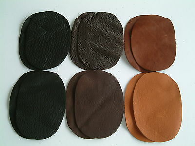 One Pair of Leather Elbow/ Knee Patches- 6 variations to choose from