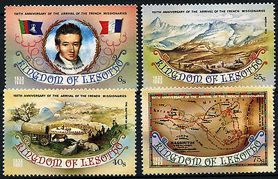Lesotho 1983 SG#550-3 French Missionaries MNH Set #D40119