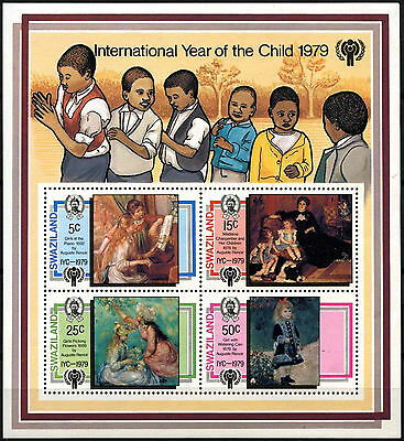 Swaziland 1979 SG#MS322 Year Of The Child MNH M/S #D40229