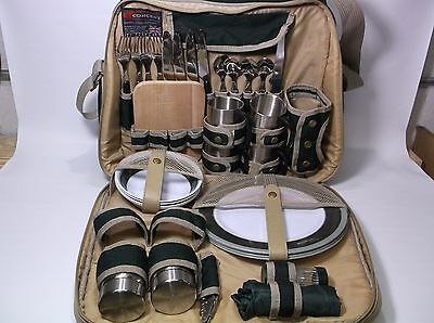 Concept International Picnic Pack Thermal Carry Bag Pre-owned Camping Dining Set