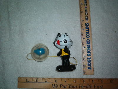 Felix the cat catch the fish in ball toy used see photo's