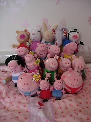 TY PEPPA PIG, family and friends  - closed 6/1 to 21/1, sorry!