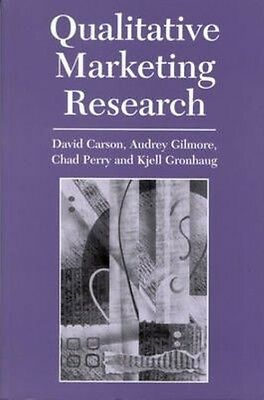 Qualitative Marketing Research by David Carson Paperback Book (English)
