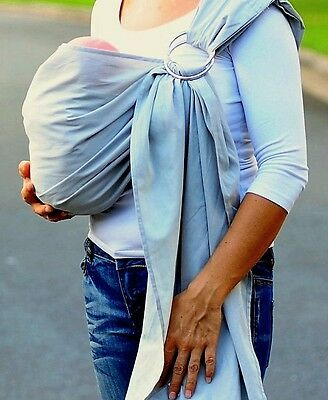 NEW HANDMADE USA  Baby Ring Sling Maya Adjustable Carrier Cotton U choose color