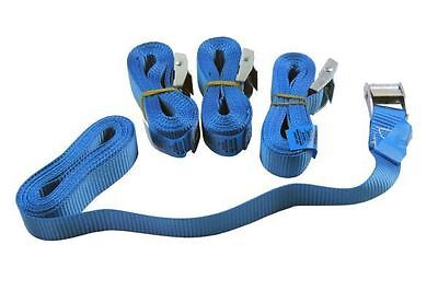Bergen 4 Piece Cam Buckle Tie Down Straps 25mm x 3M B2896