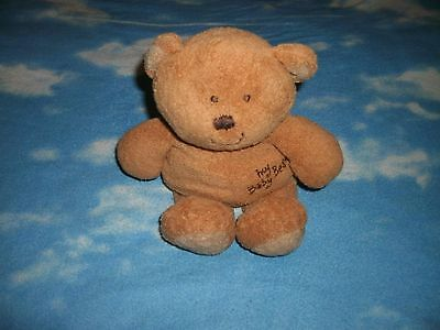 Ty Pluffies Brown My Baby Bear Plush Stuffed Animal Toy Lovey