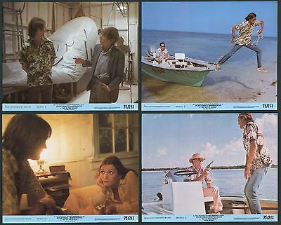 4  8x10 Lobby Cards  92º IN THE SHADE  1975 Peter Fonda W. Oates Margot Kidder