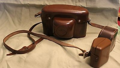 AGFA Silette Camera with Original Case, with accessories in cases