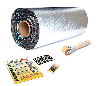 "NEW 50 Sq Ft GTMAT 80 mil Ultra Sound Deadener Deadening Material 18""x33.3' Roll"