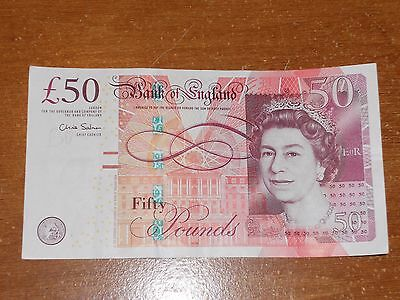 great britain  England  uk  50 Pound note