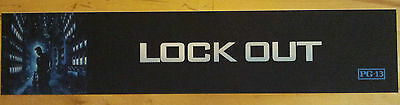 """Lock Out"", Large (5X25) Movie Theater Mylar Banner/Poster"