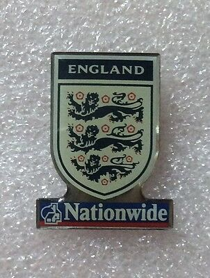 England Football Pin badge sponsors Nationwide Official F.A Issue