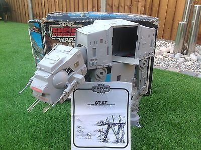 Vintage Star Wars At-At Fully Working Motor Complete, Box And Instructions