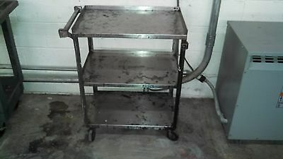 stainless steel utility cart