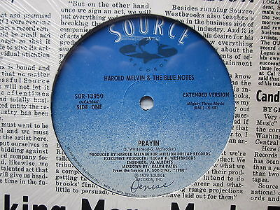 "Northern Modern 70's Boogie Soul 12""-Harold Melvin/Blue Notes-Prayin'-US Source"